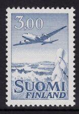 FINLAND SG679 1963 3m BLUE AIR STAMP MNH