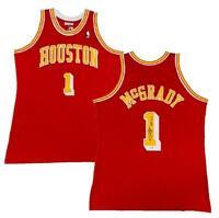 "TRACY McGRADY Autographed ""HOF 17"" Houston Rockets Authentic Jersey FANATICS"
