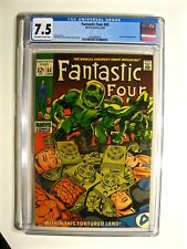 Fantastic Four # 85 (Marvel April 1969) CGC 7.5 Off-White to White Pages