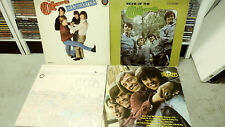 The Monkees: Lot og 4 Vinyl LPs