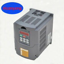 UPDATED  5.5KW 220V 7.6HP 25A VARIABLE FREQUENCY DRIVE INVERTER VFD