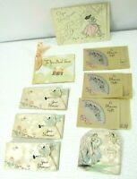 Lot 9 Vtg Bridal Shower Small Gift Enclosure Cards 1930s
