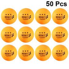50 Pcs Ping Pong Balls ABS Durable Training Balls Table Tennis Balls for Outdoor