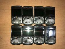 Lot Of 8 Blackberry Curve 8310 Titanium Smartphone Gsm