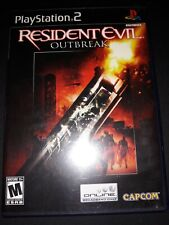 Resident Evil: Outbreak (Sony PlayStation 2, 2004) PS2 COMPLETE