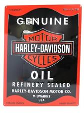 Harley-Davidson Oil Can Rectangle Tin Sign