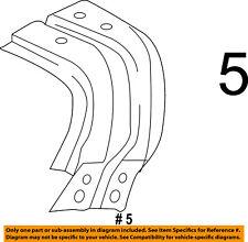 Ram CHRYSLER OEM 14-18 1500-Fender Liner Right 68235366AC