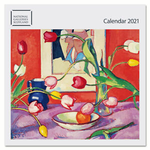 National Galleries of Scotland 2021 wall calendar ONLY £1.00