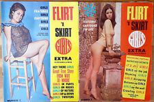 Flirt 'n Skirt 2 & 3 1960s glamour erotic