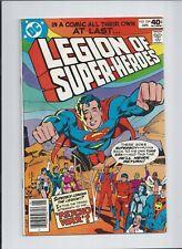 Legion of Super-Heroes #259 FN/VF (7.0) 1980 1st Issue, Superboy leaves Legion!