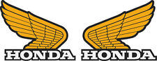#P162 HONDA CR,CT,MR,MT,SL XL,XR FUEL TANK WING DECALS XSY334 LAMINATED