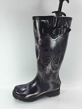 Icon Shoes Womens Graphic Rainboots 5