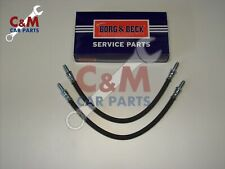 Front Left or Right 71 to 79 Hydraulic VAUXHALL VIVA 1.3 2x Brake Hoses Pair
