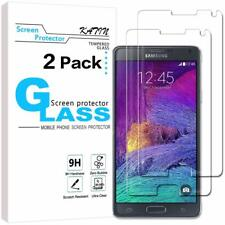 Samsung Galaxy Note 4 Premium 9H Tempered Glass Screen Protector 3D Film 2 PACK