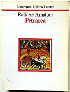 Raffaele Amaturo Petrarca Letteratura Italiana Laterza 1988 Trecento