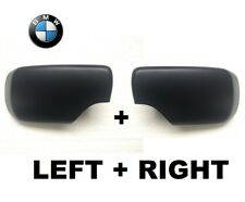 BMW 3-SERIES E46 1998-2005 SEDAN / TOURING WING MIRROR COVER SET PAIR LEFT+RIGHT