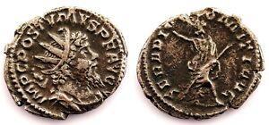 Imperio Romano-Postumo. Antoniano. Treveri 261 d. C. Plata 3,4 g.
