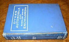 1923 1924 1925 Dykes Encyclopedia Ford Buick Hudson Cycles Camions Vapeur