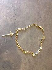 La cadena de oro con la Cruz 18K 750/119 Gr