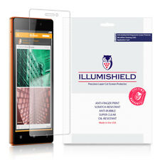 iLLumiShield Screen Protector w Anti-Bubble/Print 3x for Lenovo Vibe X2 Pro