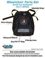Deluxe Wheelchair BagPack
