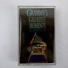 Grammy's Greatest Moments Volume IV Cassette Various Artists