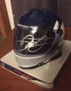 Dale Earnhardt Jr AUTOGRAPHED SIGNED NASCAR Hall Of Fame Mini Helmet  2021