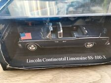 Modelauto lincoln continental limo ss100 x  kennedy norev 1op43