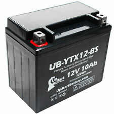 12V 10Ah Battery for 2008 Honda TRX250 TE, TM, FourTrax Recon 250 CC