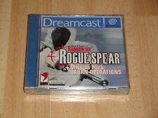 RAINBOW SIX ROGUE SPEAR + URBAN OPERATIONS PARA SEGA DREAMCAST NUEVO PRECINTADO