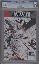 DETECTIVE COMICS #7 - DANIEL B&W LIMITED VARIANT - CGC 9.8 - 0254304025