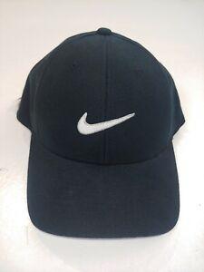 VTG 2000s Nike Hat Flexfit Adult Unisex Small Check Swoosh NWT