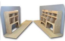 Vivaro - Trafic Van Racking Plywood Shelving  - BOTH SIDES OF VAN  - WRK1.9.11