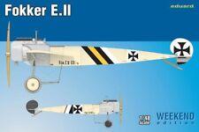 EDUARD MODELS 1/48 Fokker E II Aircraft (Wkd Edition Plastic Kit)  EDU8451