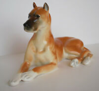 Lomonosov PORCELAIN Figurine DOG GREAT DANE TAN