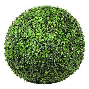 Boule de buis artificiel 45 cm - Vert foncé
