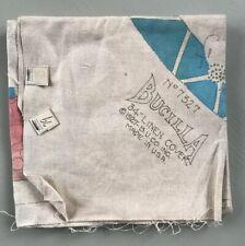 Vintage Bucilla Linen Cover NOS Painted Accents