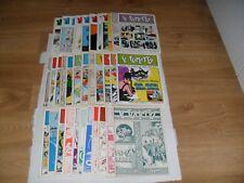 S9 IL FUMETTO I Prima Serie 1/28 + 5 Supplementi COMPLETA 1971/1977 ANAF Ottima