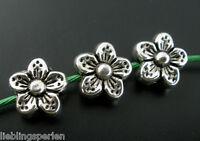 L/P Großverkauf Antiksilber Spacer Perlen Beads Metall Zwischenperlen 9x9mm