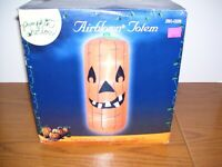 Airblown Inflatable Pumpkin Totem, 7 ft. lights up       1245