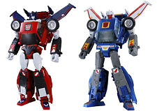 Transformers Masterpiece MP-25 & 26 Tracks & Road Rage TakaraTomy Action Figure
