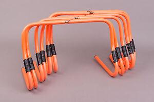 "Set of 6, 6"" to 12"" Adjustable Hurdles"