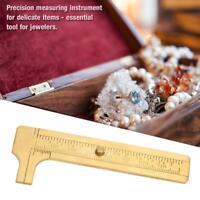 Mini Sliding Gauge Vernier Caliper Measure Measurement Tool for Jeweler 80mm