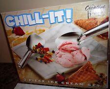 CREATIVE HOME CHILL IT ONE PIECE ICE CREAM MARBLE BOARD MISSING ICECREAM SPADEAS