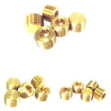 New Listingaigo Jns Brass Pipe Fitting Hex Counter Sunk Plug Male Pipe 5 38 Inch 5