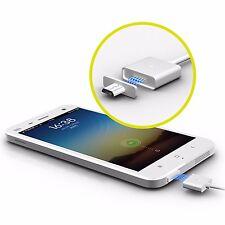 2.4A Micro USB Cable De Carga Magnético Cargador Adaptador Para Android