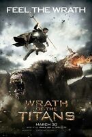 Wrath Of The Titans Advance Double Sided Original Movie Poster 27x40 inches