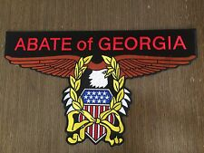 ABATE of GEORGIA EAGLE Back patch