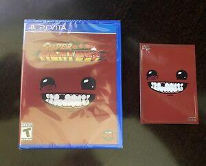 Super Meat Boy Playstation Vita (PS Vita) Limited Run Games #223 - NEW w/ Card!
