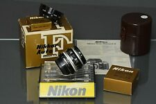 3) Nikon 50 2 H, factory converted,boxed , 99,8% mint, filter, manual, film/dig3